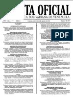 Gaceta Oficial de La República Bolivariana de Venezuela 40469