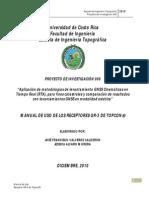 Manual Uso Equipo Topcon Gr 3 Mediciones Rtk1