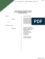 Doe v. SexSearch.com et al - Document No. 118