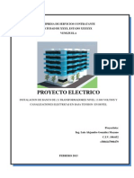 Memoria Descriptiva Electricidad