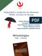 SeguridadAuditoriaSistemas GestiónDelRiesgo Vers.2