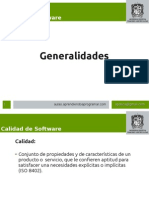 Calidad de Software 01