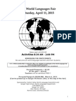 OFFICIAL 2015 World Languages Fair Pkt Revised Dec 2014