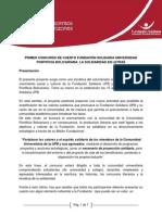 REGLAMENTACION CONCURSO FUNDACION