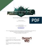 Warthrone Rulebook