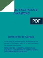 Cargas Estaticas y Dinamicas