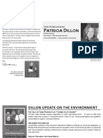 Rep Pat Dillon Update on Environment