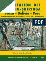 Oscar Paredes Pando - Explotacion Del Caucho y Shiringa