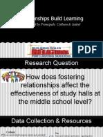 effectiveness study hall