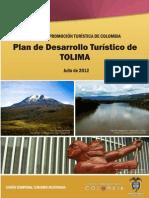 Plan de Desarrollo Turistico Del Tolima