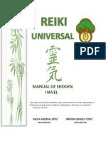 Manual Reiki Shoden Imprimible