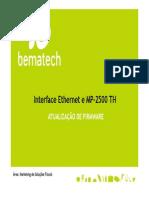 Atualizacão MP2500TH e Módulo Ethernet