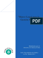 Marco Legal Gestion Municipal en Salud
