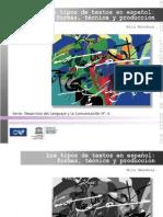 Tipos de Textos PDF