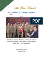 13 Orquesta San Vicente