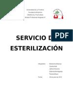 Servicio de Esterilización