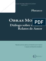 Plutarco - Diálogo sobre o Amor & Relatos de Amor