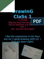DrawinG ClaSs 1