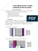 Estudio sobre los hábitos de ocio y tiempo libre de la población de Pola de Laviana