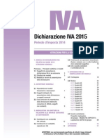IVA 2015 Istruzioni