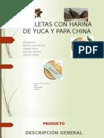 Galletas de Yuca y Papa China