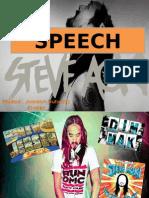 Steve Aoki sppech