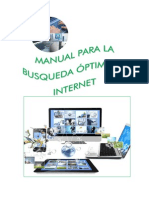 Manual Para Uso Efectivo Del Internet
