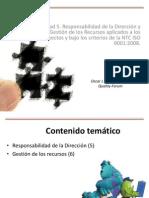 Unidad 5. Responsabilidad, Autoridad, Comunicación y Gestión de Los Recursos en Los Proyectos