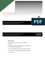 presentacion primer congreso enseñanzas tecnicas en UPV 19/02/10
