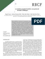 Revista Brasileira de Ciências Farmacêuticas Brazilian Journal