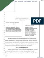 Duplessis v. Golden State Foods Inc et al - Document No. 59