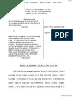 Gray et al Menu Foods, et al - Document No. 3