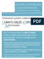 OPGR Card Spanish