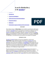 Biotecnología en La Disolución