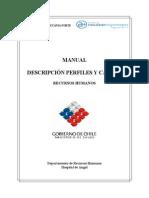 Manual de Perfiles y Cargos Dpto. Rrhh