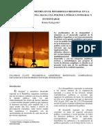 Asimetría en El Desarrollo Regional de Argentina - Galleguillo