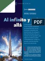 Al Infinito y a Burj Dubai