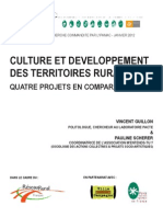 Culture Et Developpemment