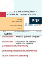 Adiabatic Quantum Computation – a Tutorial for Computer Scientists