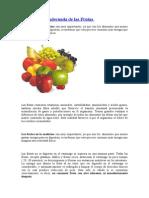 Combinación Adecuada de Las Frutas