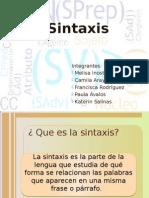 La Sintaxis