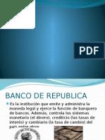 Diapositiva Banco de La Republica de Colombia