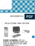 Informática- Mario Molina