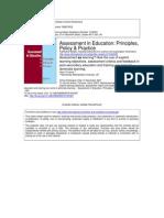 Assessment for Learning Torrance