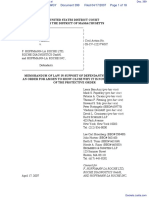Amgen Inc. v. F. Hoffmann-LaRoche LTD et al - Document No. 399