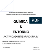 Integradora IV Química