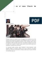 Qué NO Es El Caso Chavín de Huantar