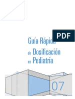 Dosificacion Guia Rapida Pediatria