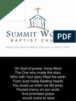 Morning Gathering - July 19, 2015