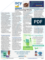Pharmacy Daily for Fri 17 Jul 2015 - SHPA Choosing Wisely, Teenage Rx drug abuse, NSAID-antidepressant haemorrhage risk, Events Calendar and much more